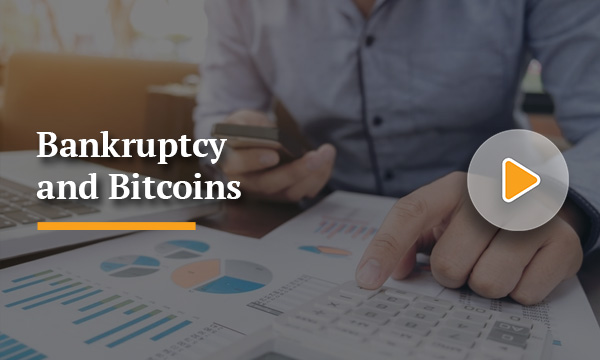 Bankruptcy and Bitcoins